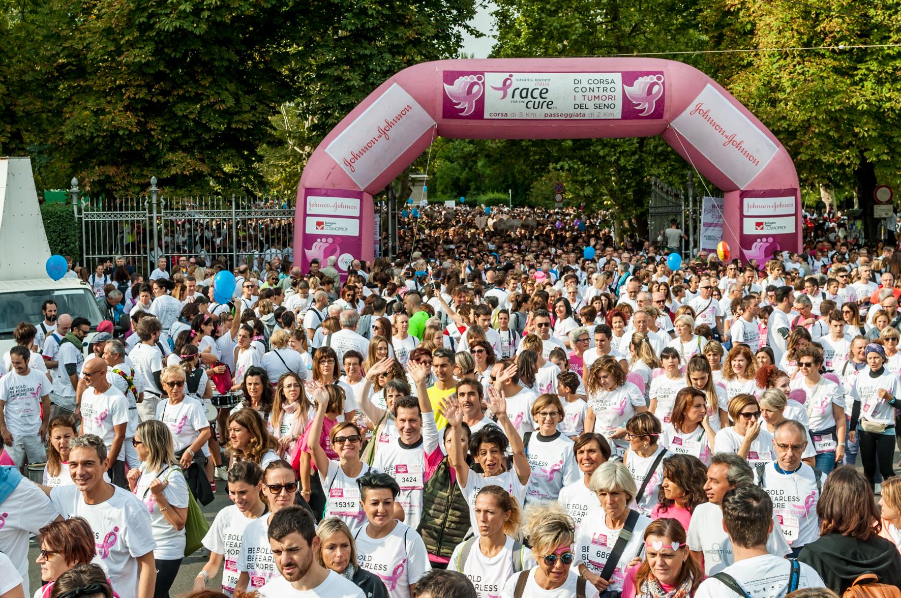 Race for the Cure: 20 anni di corsa contro il tumore al seno