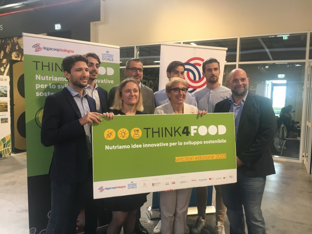 Think4Food, i vincitori dell'edizione 2019