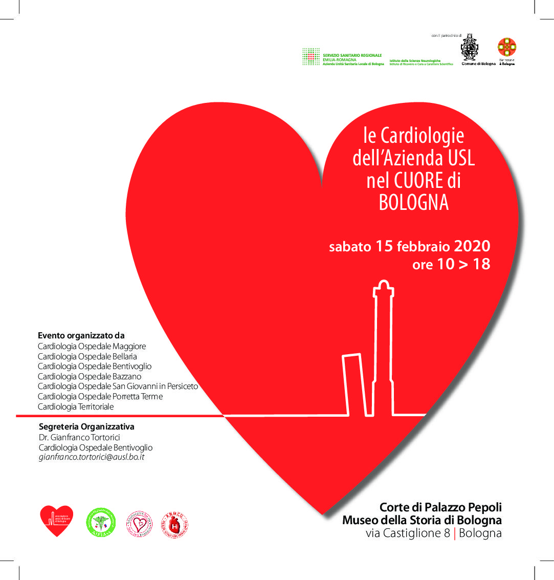 Giornata del cuore a Palazzo Pepoli
